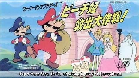 Super Mario Bros - A Grande Aventura Para Resgatar a Princesa Peach - Legendado 1986 Filme VHSTip completo Torrent