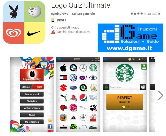 Soluzioni Logo Quiz Ultimate di tutti i livelli  29beec8ec9f