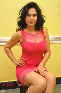 Telugu Actress Vijaya Murthy Stills in Red Short Dress at Www.Meena Bazaar Movie Opening  0066.JPG