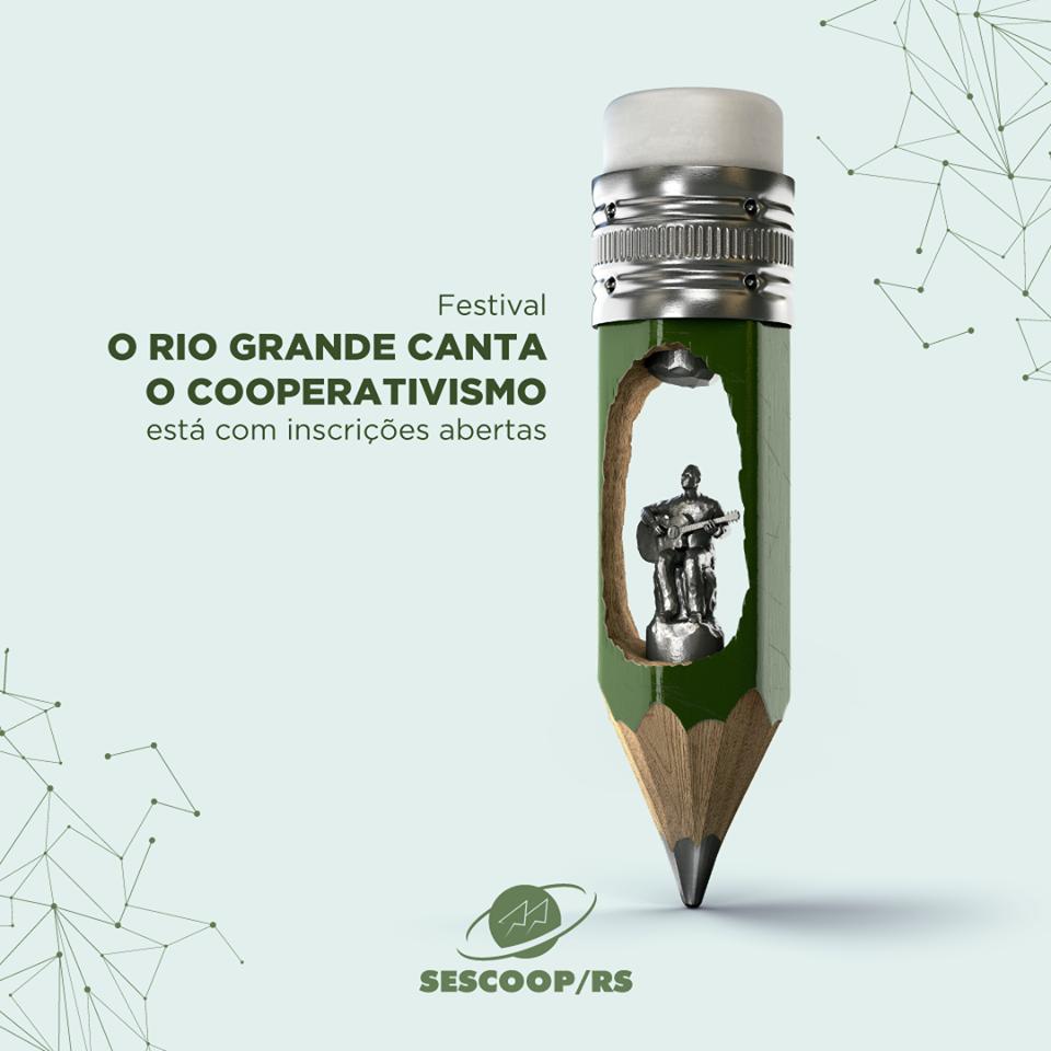 Festival O Rio Grande Canta o Cooperativismo está com inscrições abertas