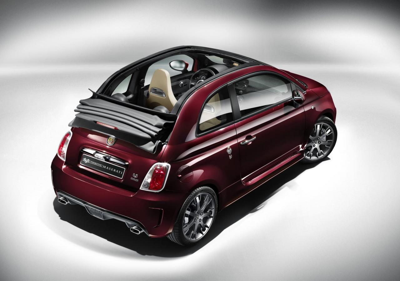 Because This 500c Has A Specially Designed Exhaust To Give The Impression Of Maserati Style Excitement In Small Car