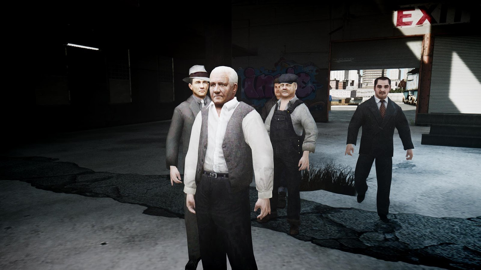 GTA 5,GTAV,GTA IV Mods and Skins: Mafia 2 Peds Part 1