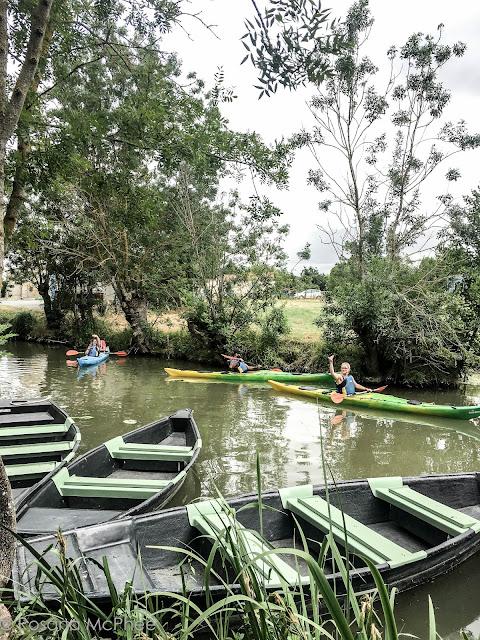 canoeing in Ile de Ré