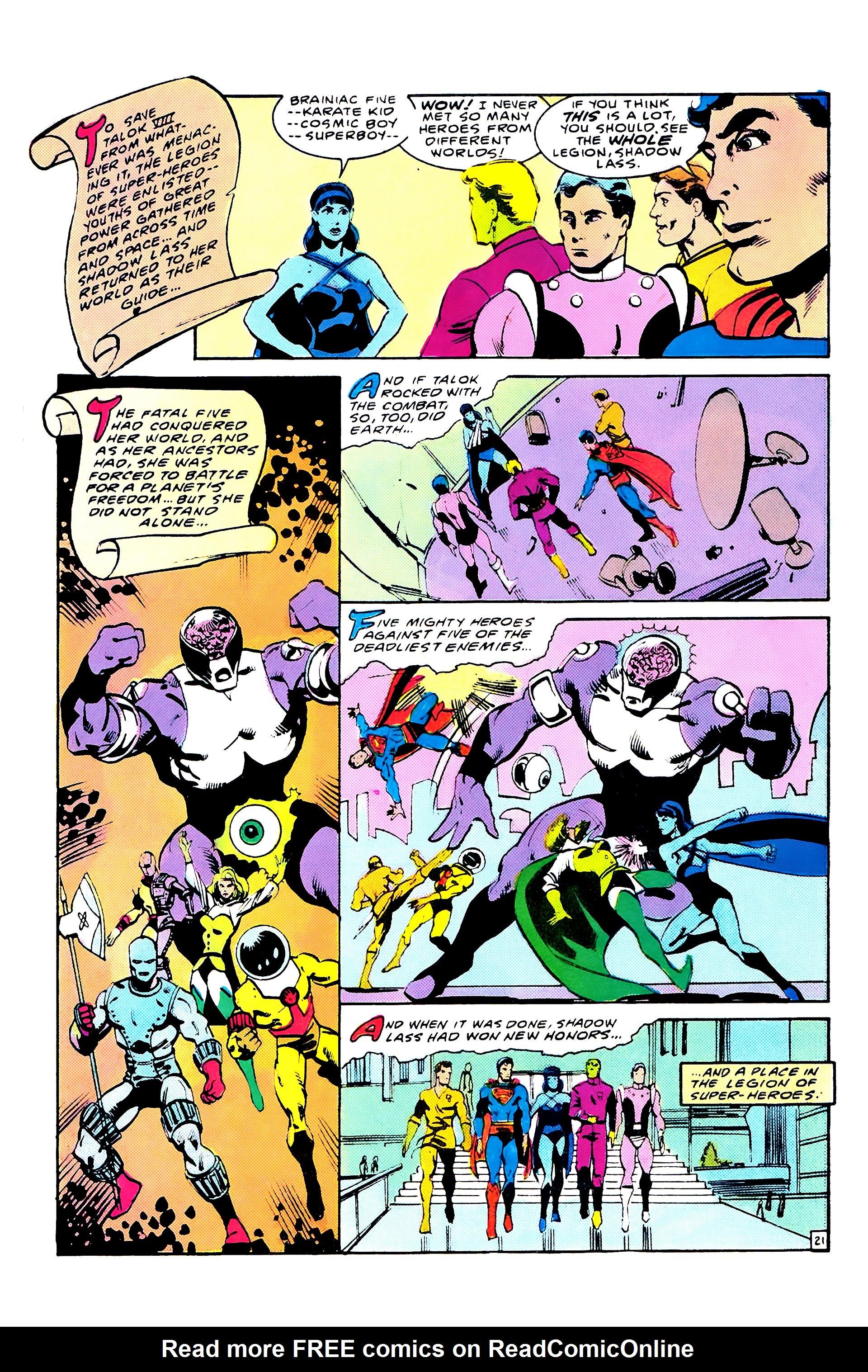 Read online Secret Origins (1986) comic -  Issue #8 - 27