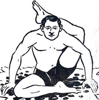 Ek Pada Shirasana or Foot Behind the Head Pose - steps and benefits