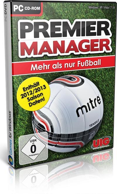 Premier Manager 2013 PC Full Español Descargar 1 Link 2012