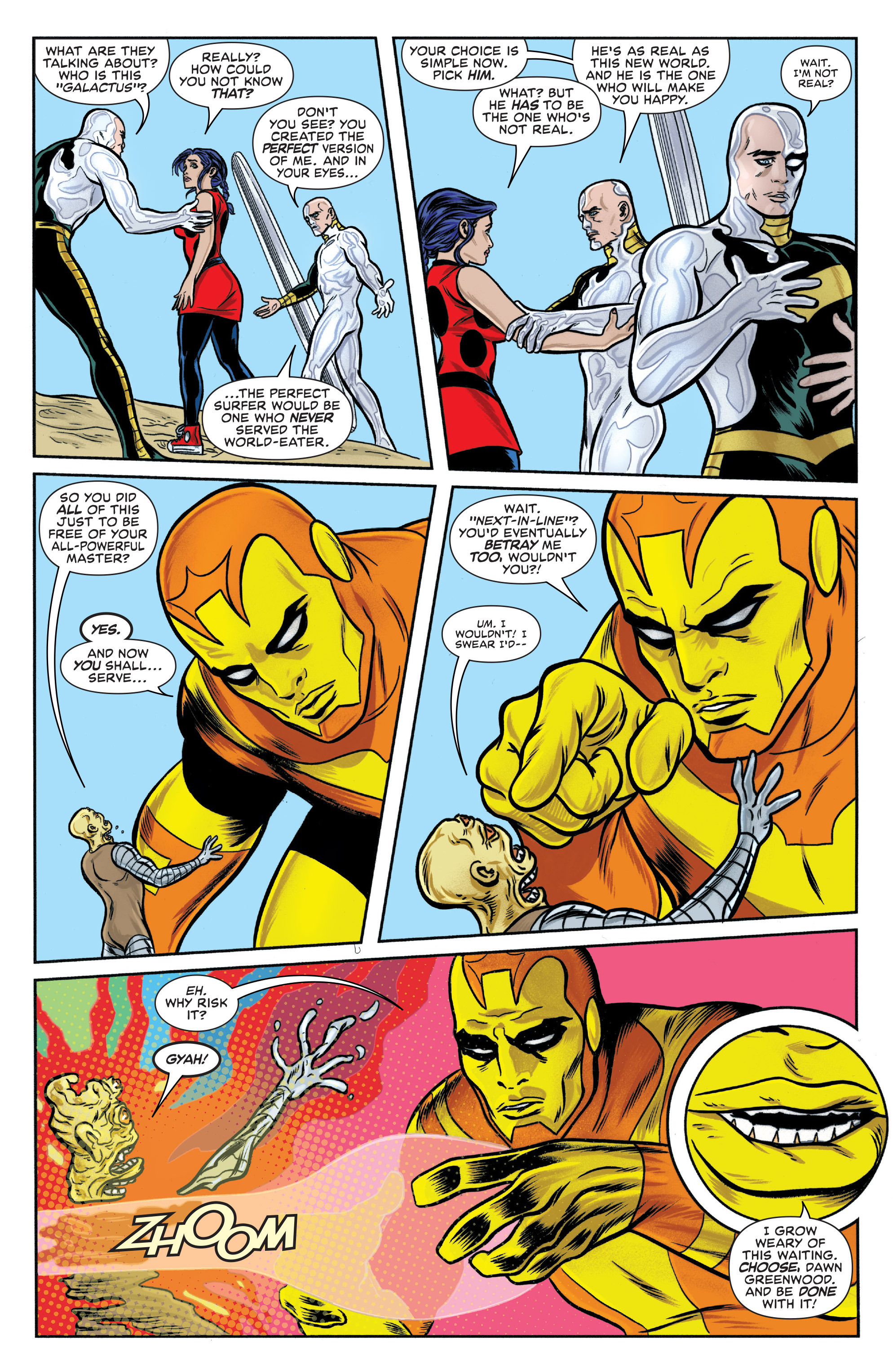 Read online Silver Surfer (2014) comic -  Issue #15 - 11