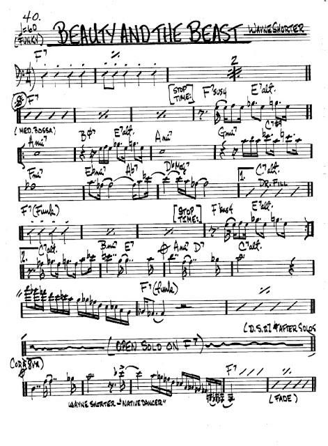 Partitura Violonchelo Wayne Shorter