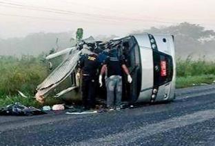 TRAGÉDIA: acidente mata cinco e deixa vários feridos na BR 316