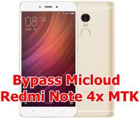Remove Mi Account Redmi Note 4x MTK