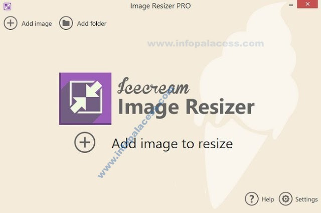 Download Ice Cream Image Resizer Pro Latest Full Version for Free