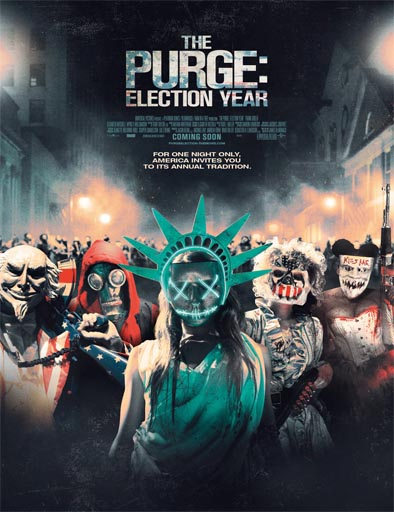 Election: La noche de las bestias (The Purge: Election Year) pelicula online