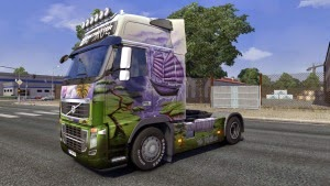 The Fly Boat skin for Volvo FH 2009