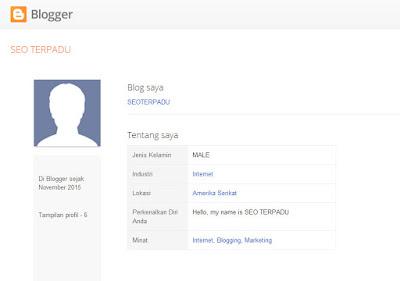 profil blogger