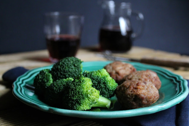 polpette e broccoli