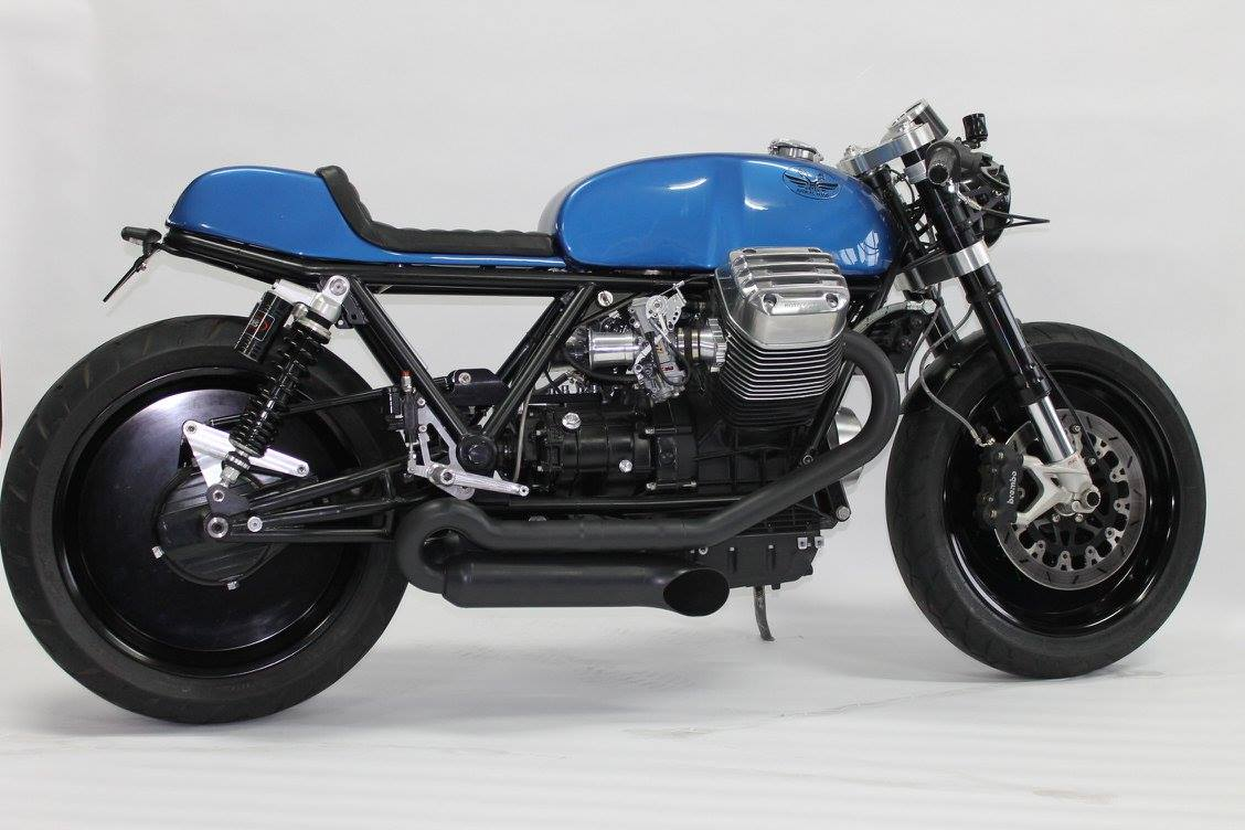racing caf moto guzzi california 1400 ristretto nr uno by radical guzzi. Black Bedroom Furniture Sets. Home Design Ideas