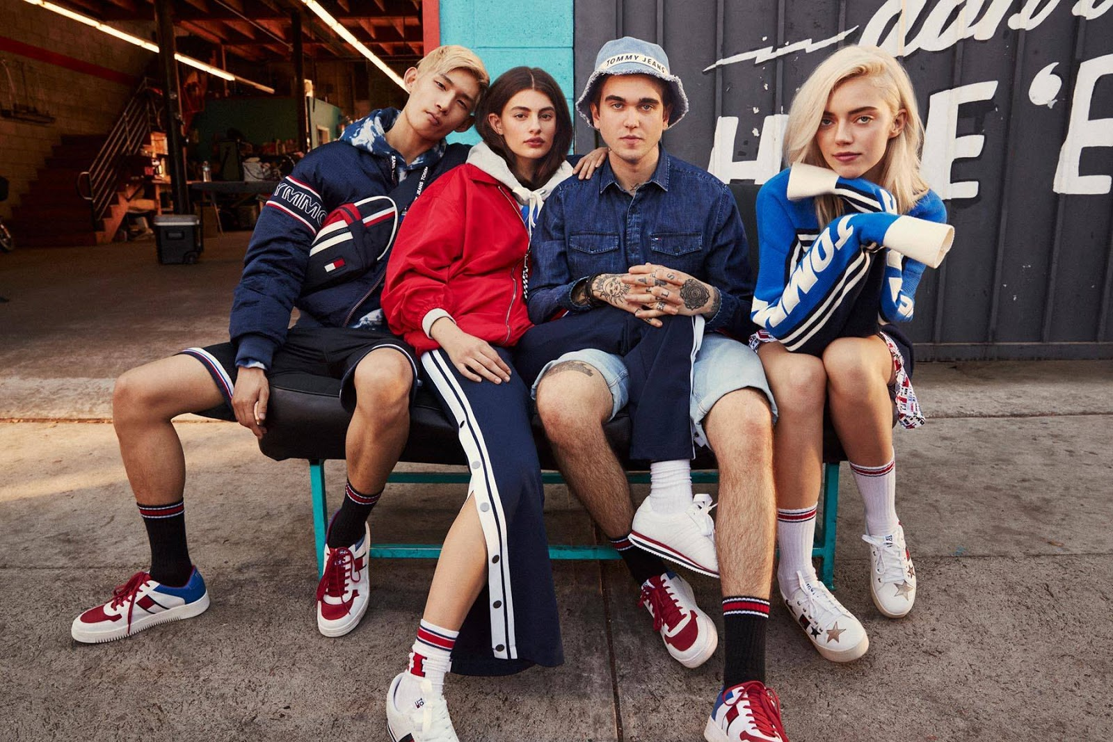 Tommy Jeans Spring 2018 Ad Campaign by Devyn Galindo