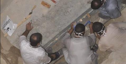 الأثار تكشف تفاصيل جديدة بشان التابوت الأثري بالإسكندرية