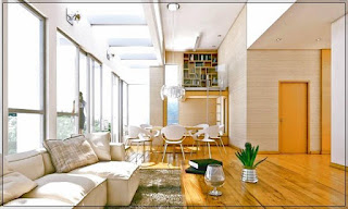 Dapur Rumah Minimalis Menyatu dengan Ruang Keluarga yang Indah