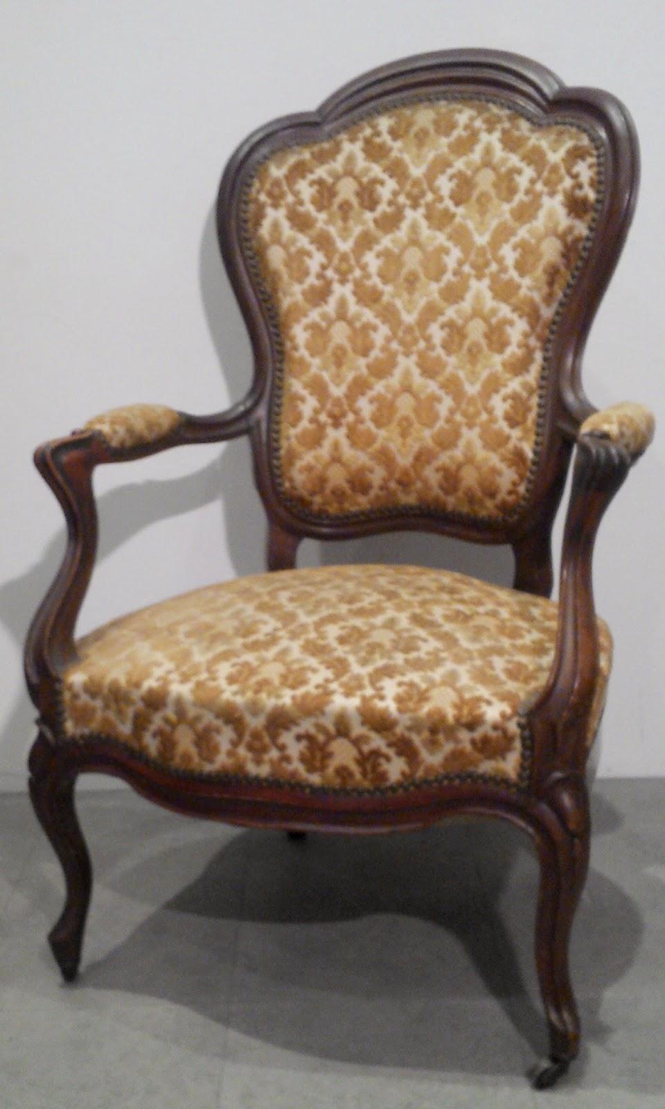 fauteuil cabriolet de style louis xv poque louis philippe si ge bois. Black Bedroom Furniture Sets. Home Design Ideas