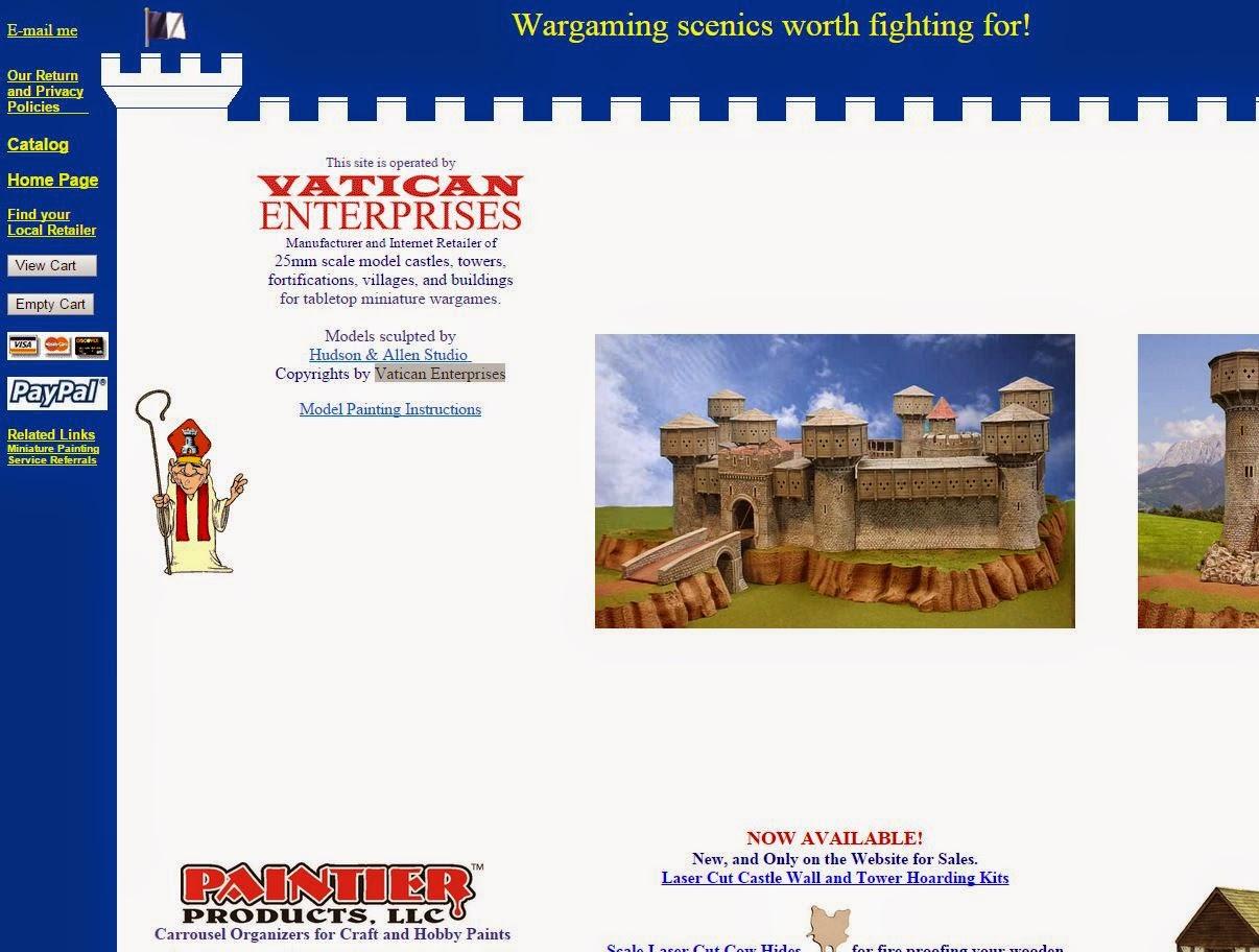 MF WARS: Terrain Tuesday - Vatican Enterprises, 3D-Print
