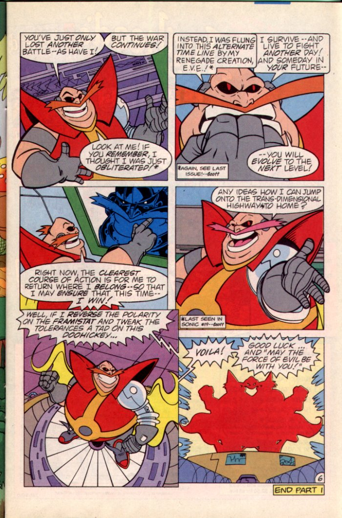 Read online Sonic The Hedgehog comic -  Issue #22 - 7
