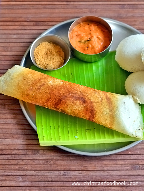 ration rice dosa