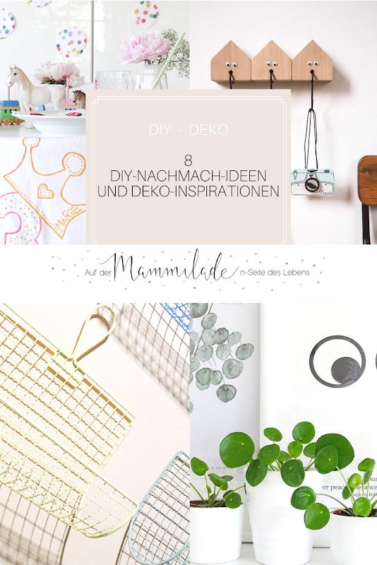 8 DIY- und Deko-Nachmachideen | https://mammilade.blogspot.de