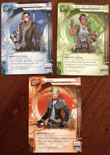Runners for Netrunner which is set in the Android universe