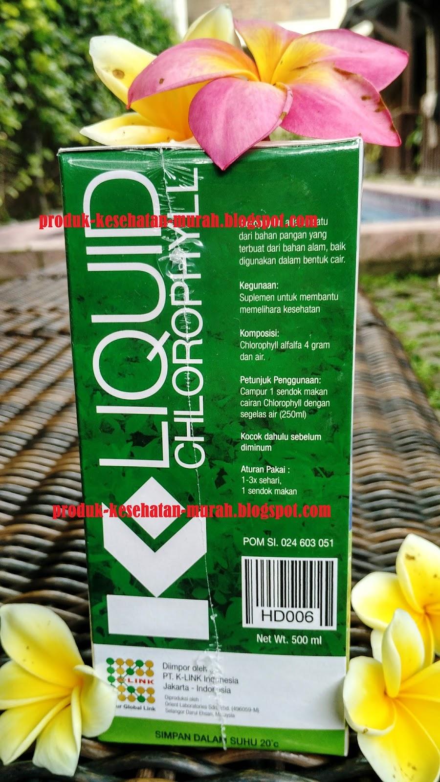 KLOROFIL K LINK (K-Liquid Chlorophyll)