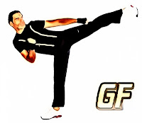 cara melatih otot kaki sidekick