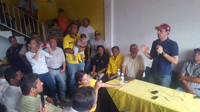 APURE: Rueda de prensa de Henrique Capriles Radonski en San Fernando este jueves. VIDEOS.