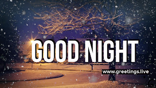 Good Night greetings live