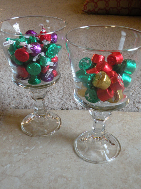 How to make DIY candy dishes from dollar store votive cups and candlesticks