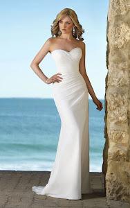 Simple Beachy Wedding Dresses