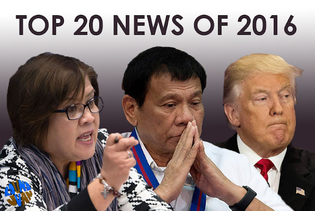 Philippine Top News for 2016