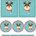 Etiquetas para regalos de navidad para imprimir