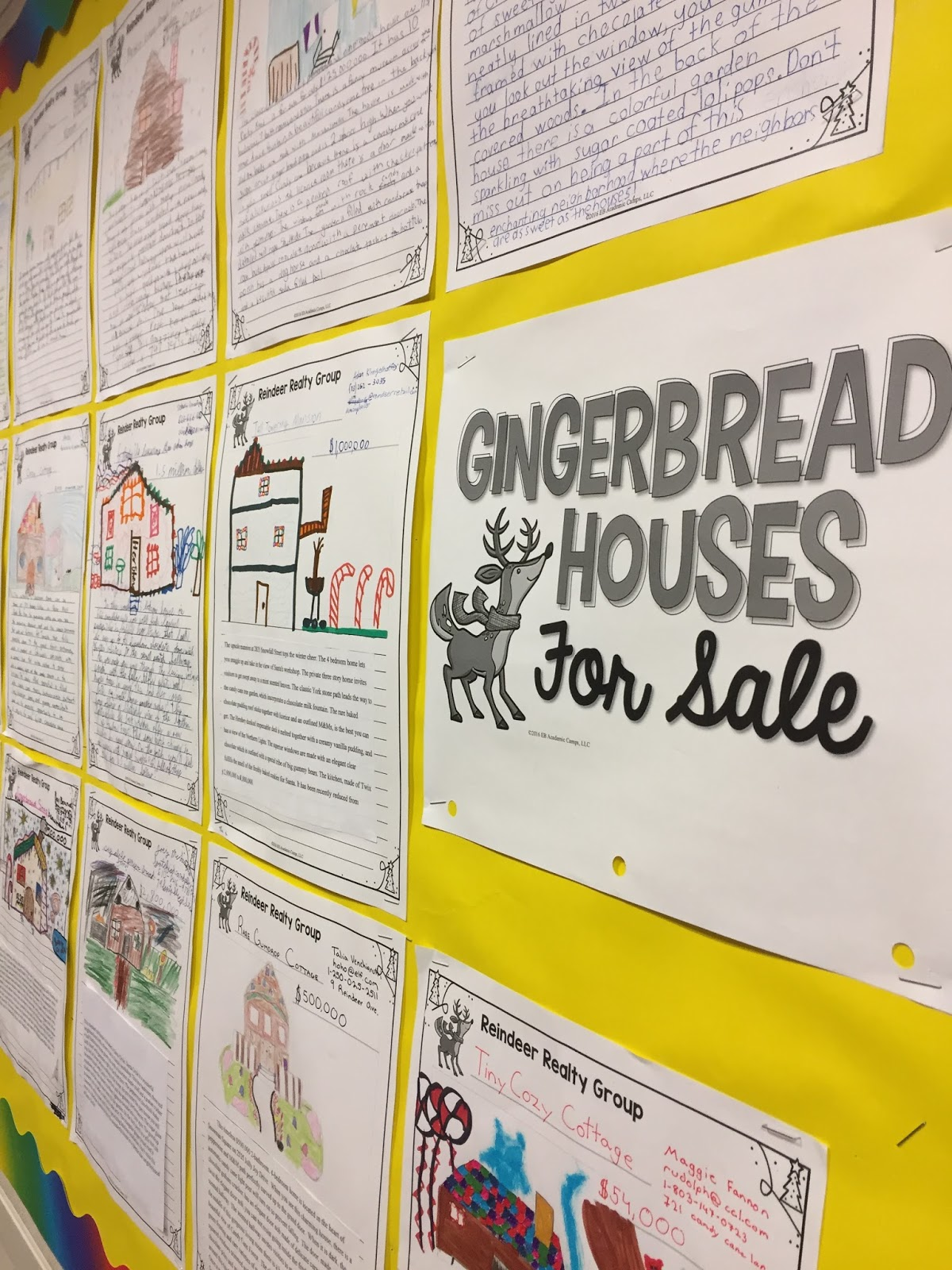 Gingerbread House Writing Activity For Middle School