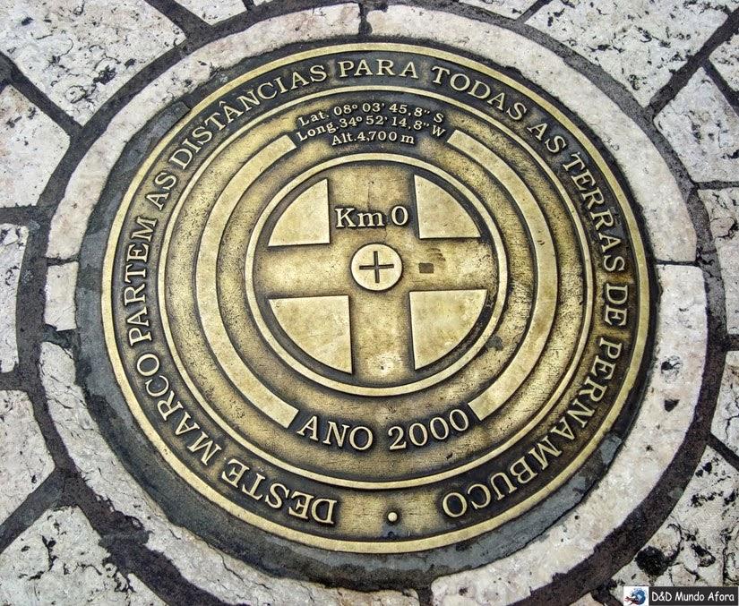 Marco Zero de Recife (Pernambuco) - a capital do frevo