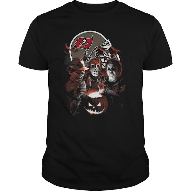 Tampa Bay Buccaneers Halloween Scream Team Shirt