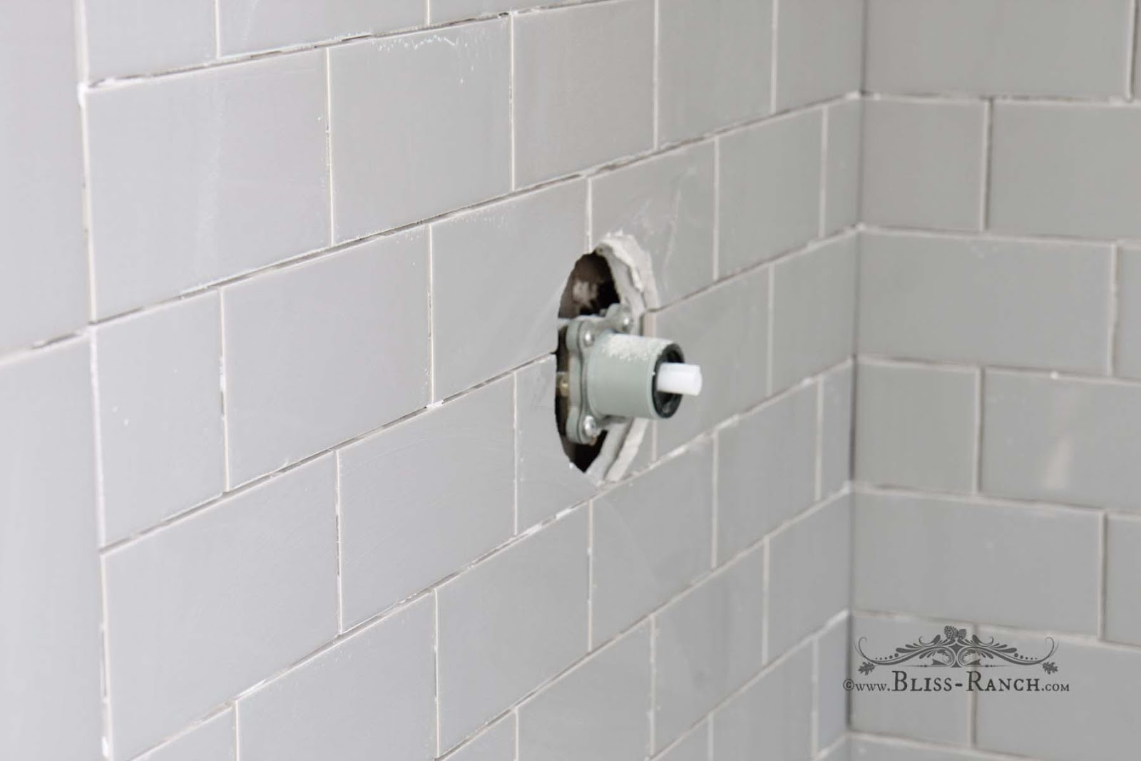 Bliss Ranch: Subway Shower Tile