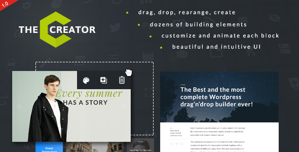 Download The Creator - Visual Page Builder for WordPress