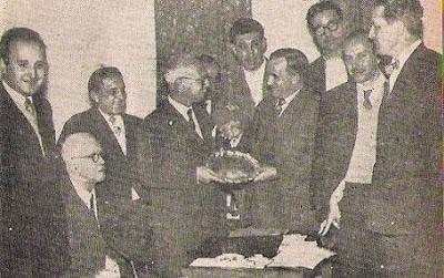 Trofeo del XVIII Campeonato de España de Ajedrez 1957