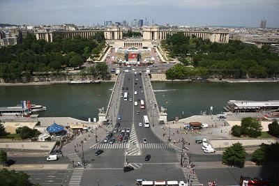 Vistas desde el 58 Tour Eiffel (París)