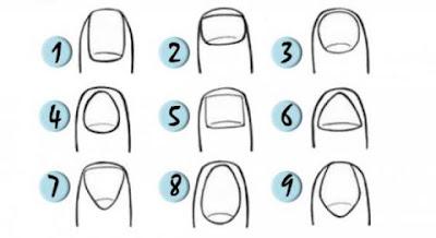 Test de Personalidad : Dime como son tus uñas y te diré como eres
