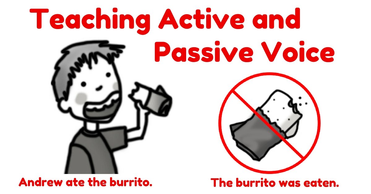 teaching passive voice essay Can you use the passive voice correctly take a moment to do this exercise fill in the blanks with an appropriate passive verb form answers.