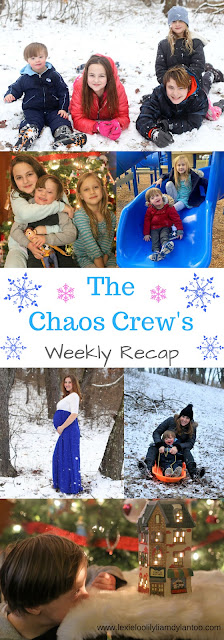 The Chaos Crew's Weekly Recap - Motherhood, Down syndrome, and Big Family Life!  #momblogger #Downsyndrome #parenting #photography