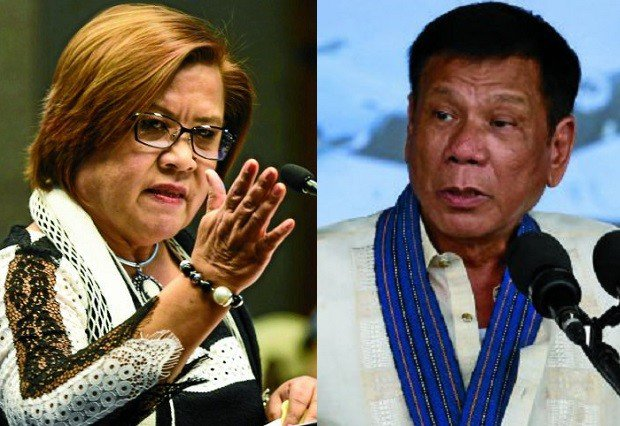 Pres. Duterte: It's part of my duty to name De Lima