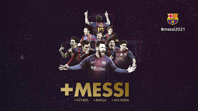 Barcelona renovou com Messi até 2021