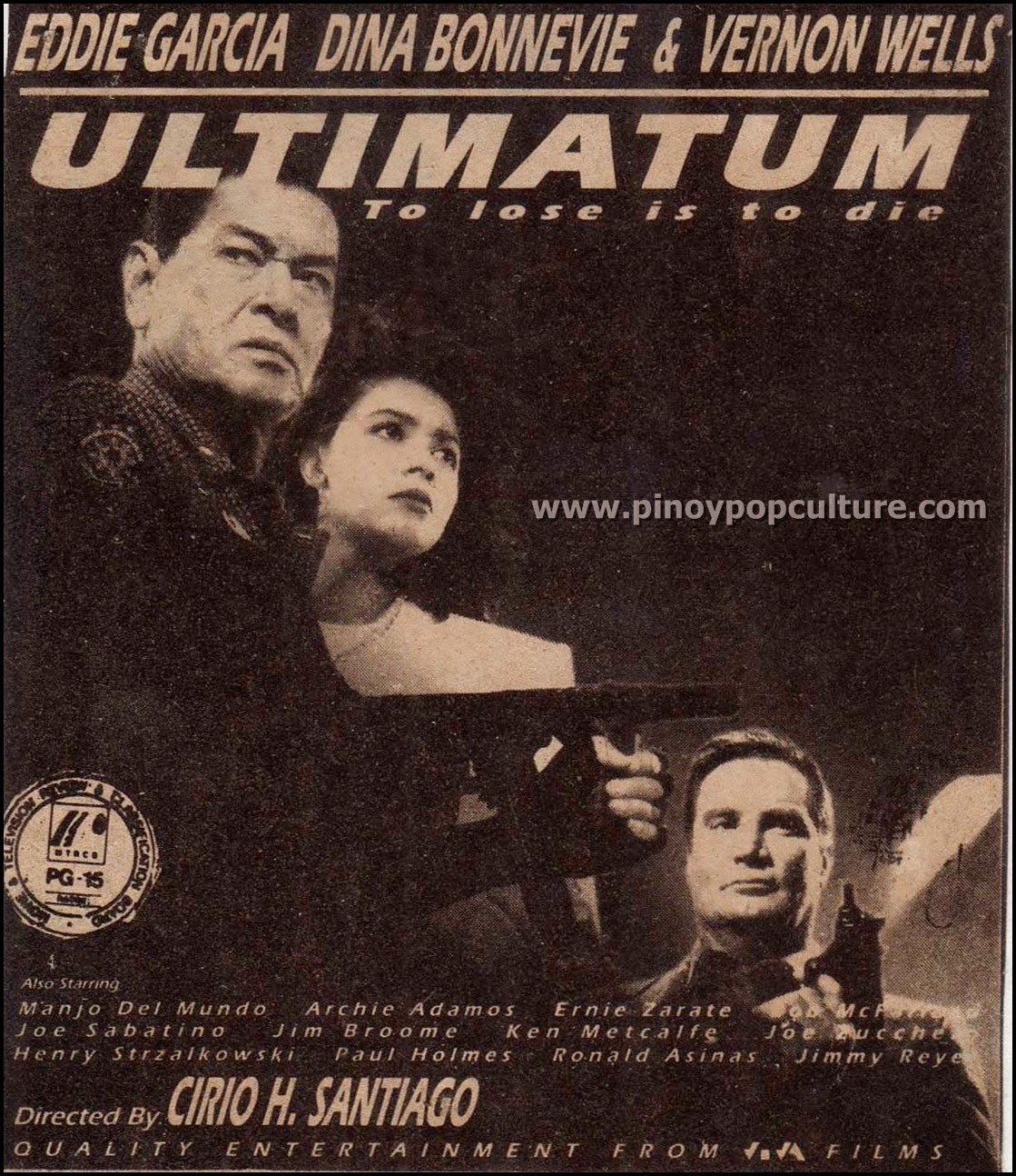 action movies, Eddie Garcia, Ultimatum